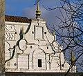 Фрагмент фасаду келій монастиря бернардинців. м.Ізяслав.JPG