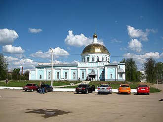 Kirovsky District, Kaluga Oblast - Temple of Alexander Nevsky, Kirovsky District