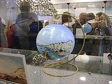 ялинкова іграшка ручної роботи в музеї
