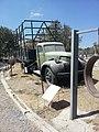 רכב היסטורי באתר שחזור חומה ומגדל.jpg