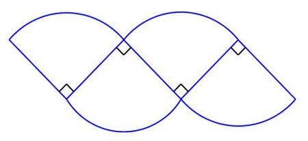 دایره بر چهار قطاع تقسیم شده مرحله 2.jpg