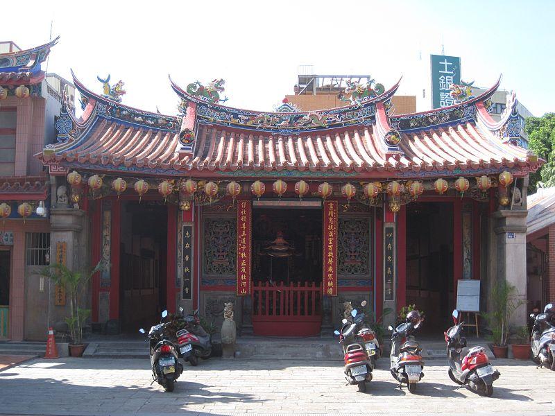 新竹關帝廟(來源:維基百科,作者:Pbdragonwang)