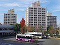 泉ヶ丘駅前(北口)にて In front of Izumigaoka station 2012.12.14 - panoramio.jpg