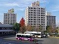 泉ヶ丘駅前(北口)にて In front of Izumigaoka station 2012.12.14 - panoramio.jpg