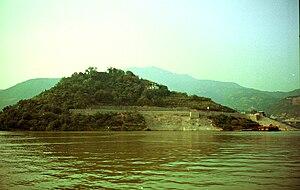 Baidicheng - Image: 白帝城岛