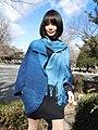 藍染ポンチョとストール.jpg