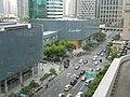 香港新世界商厦及路口 Crossroad and Cartier - panoramio.jpg