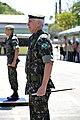 - General Vilela - em primeiro plano - na cerimônia de passsagem de comando do Coter. Em segundo plano, general Salvador, que deixou o Coter (7945379678).jpg