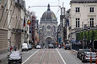 Rue Royale, Brussels street in Brussels, Saint-Josse-ten-Noode and Schaerbeek, Belgium