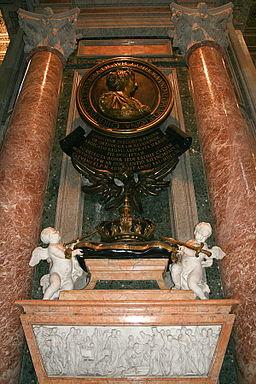 0 Monument funéraire de Christine de Suède - St-Pierre - Vatican (1)