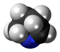 1-Pyrroline 3D spacefill.png