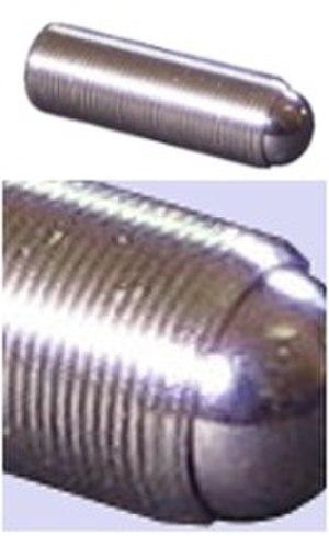 Fine adjustment screw - 100 TPI Threaded Screw