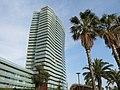 101 Illa del Mar, Diagonal Mar (Barcelona), des del parc de Diagonal Mar.jpg