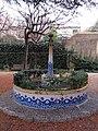 102 Casa Barbey, brollador del jardí (la Garriga).JPG