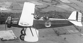 New York Air National Guard - Douglas O-38 102d Observation Squadron, New York National Guard and based at Miller Field, New Dorp, Staten Island, New York City, 1933. The squadron provided divisional aviation for the 27th Division, New York National Guard. Note squadron emblem on side of fuselage.