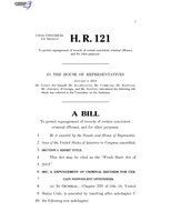 116th United States Congress H. R. 0000121 (1st session) - Fresh Start Act of 2019.pdf