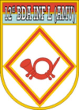 12th Light Infantry Brigade (Airmobile) - Image: 12bdalv