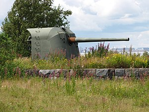 130 mm/50 B13 Pattern 1936 - 130 mm/50 B-13 in Kuivasaari