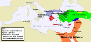 Byzantine ottoman wars wikipedia for 1453 ottoman mediterranean cuisine