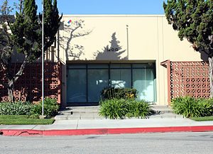 Walt Disney Animation Studios - 1400 Flower Street in Glendale, California, one of several buildings used by Walt Disney Feature Animation between 1985 and 1995.