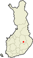 140px-Location of Leppävirta in Finland.PNG