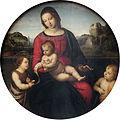 1505 Raffael Maria mit Kind, Johannes dem Taeufer und Knaben anagoria.JPG