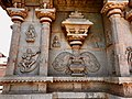 15th century Hazara Rama temple Bala Krishna and Buddha, Hampi Hindu monuments Karnataka.jpg