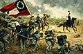 167th Infantry, 4th Alabama, Manassas General Bee leading.jpg