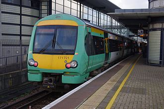 Marshlink line - Image: 171721 at Ashford International