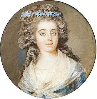 La Force Prison - Portrait of princess de Lamballe