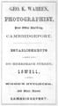 1863 Warren advert Cambridge Massachusetts.png