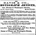 1864 Davis and Co photographer advert Boston Almanac.png