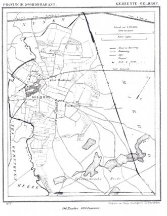 Geldrop - Geldrop in 1866