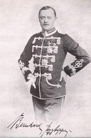 Prince Bernhard of Lippe (1872–1934) - Prince Bernhard of Lippe ca. 1909