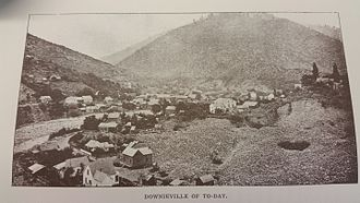 Downieville, California - 1890s Downieville