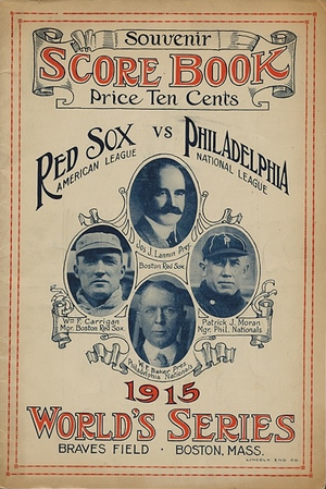 1915 World Series - Image: 1915World Series