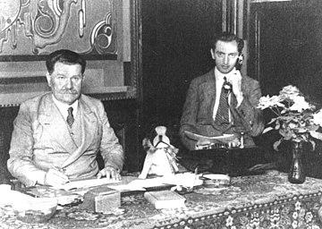 1929 - Alex, Wunnink & Louis Dekker