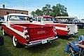 1957 & 1959 Dodge D-100 Sweptside Pick-Up (21230442145).jpg