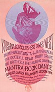 """Mantra-Rock Dance"" poster"