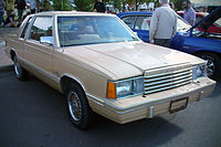 1981 Dodge Aries Coupe