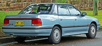 Subaru Legacy - Pre-facelift Subaru Liberty LX sedan (Australia)