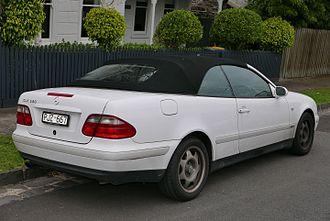 Mercedes-Benz CLK-Class - Cabriolet (pre-facelift)