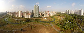 Bishan, Singapore - Image: 1 2014 panorama bishan park aerial gopro dji phantom