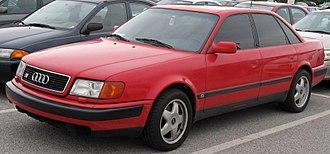 Audi S4 - Image: 1st Audi S4