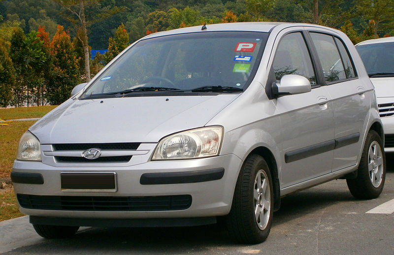 file 2004 hyundai getz gl 5 door hatchback in puchong malaysia 01 jpg wikimedia commons. Black Bedroom Furniture Sets. Home Design Ideas