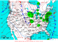 2006-02-12 Surface Weather Map NOAA.png