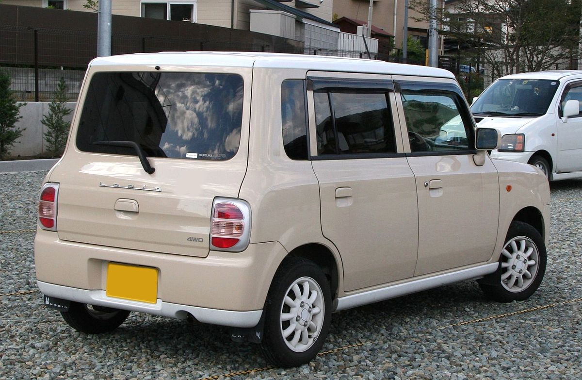 Suzuki Alto Lapin – Wikipedia, wolna encyklopedia