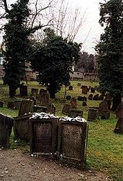 Wormser Judenfriedhof, Grab des Maharams und Alexander Wimpfen