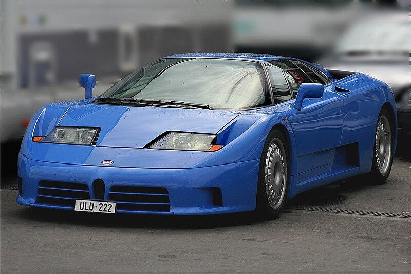 drive: Bugatti EB110/EB110