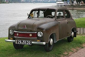 North German Automobile and Engine - Lloyd LP 300 (Leukoplastbomber)